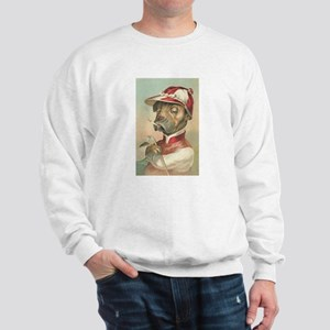 Cute Dog Jockey Sweatshirt