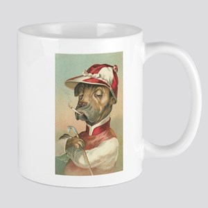 Cute Dog Jockey Mug