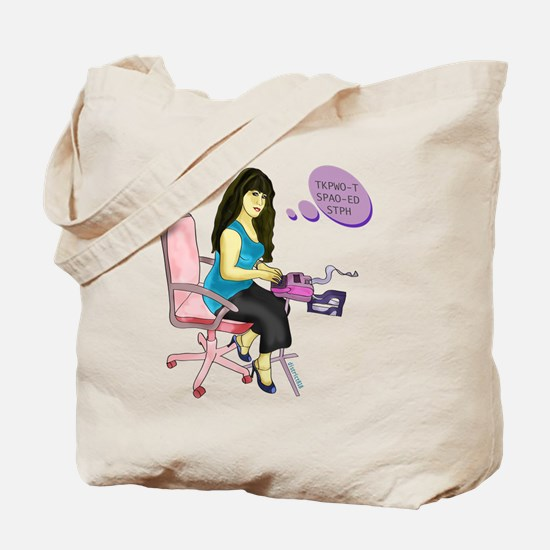 COURT REPORTING Tote Bag