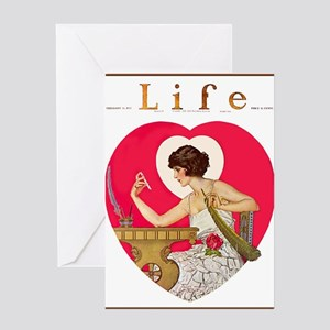 LIFE MAGAZINE, FEB. 16, 1922 Greeting Cards