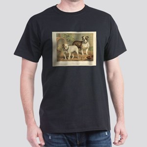 Bulldogs antique print Dark T-Shirt