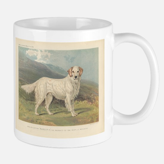 English Setter Beautiful Whit Mug