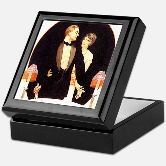Unique Advertisement Keepsake Box