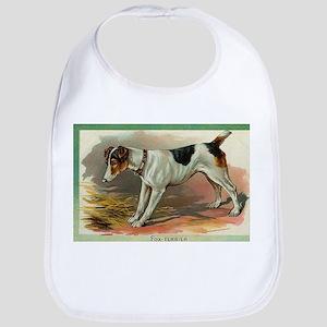 Victorian Fox Terrier Bib
