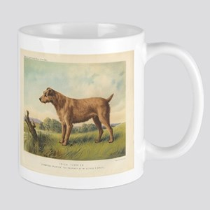 Cute Irish Terrier print Mug