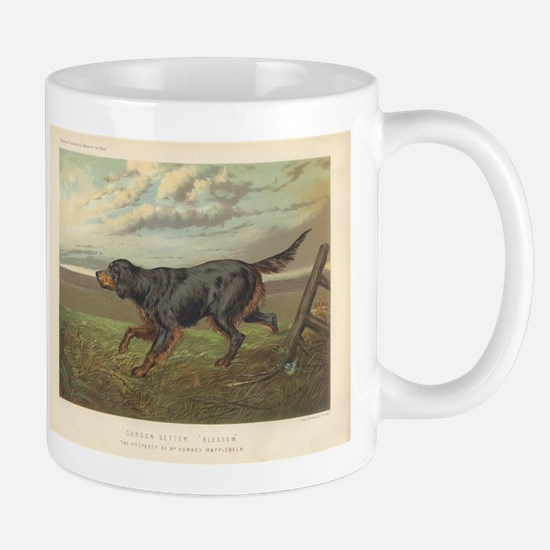 Hunting Dog antique print Mug