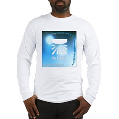 Logo with URL and tagline 4 Long Sleeve T-Shirt