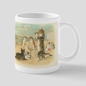 Kitties on the Beach Mug