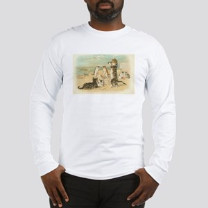 Kitties on the Beach Long Sleeve T-Shirt