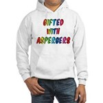 Gifted with Aspergers Hooded Sweatshirt