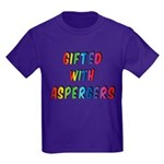 Gifted with Aspergers Kids Shirt