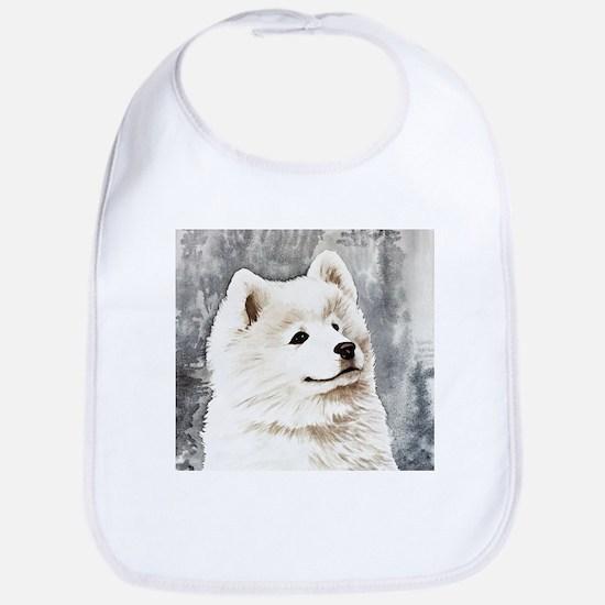 Samoyed Puppy Bib