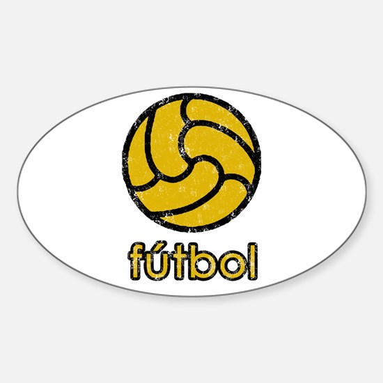 FUTBOL Sticker (Oval)