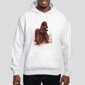 Irish Water Spaniel Hooded Sweatshirt