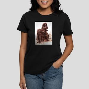 Irish Water Spaniel Women's Dark T-Shirt