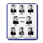 1943, Catholic Central HS, Ottumwa, IA, Mousepad