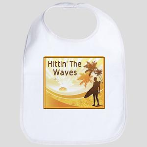 Hittin' The Waves Bib