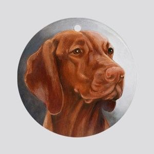 Vizsla Ornament (Round)