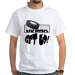 Get Up! White T-Shirt
