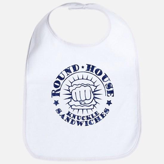 Round-House Sandwiches Cotton Baby Bib
