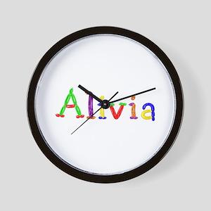 Alivia Balloons Wall Clock