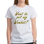 Wombat Women's T-Shirt