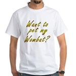 Wombat White T-Shirt