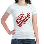 Say What? Jr. Ringer T-Shirt