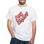 Say What? White T-Shirt