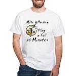 36 Minutes White T-Shirt