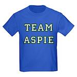 Team Aspie Kids Dark T-Shirt