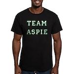 Team Aspie Men's Fitted T-Shirt (dark)