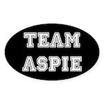 Team Aspie Sticker (Oval 10 pk)