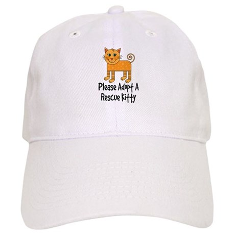 Adopt A Rescue Kitty Cap
