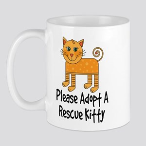Adopt A Rescue Kitty Mug