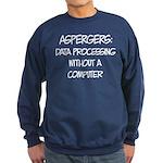 Aspergers Sweatshirt (dark)