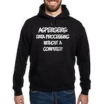 Aspergers Hoodie (dark)