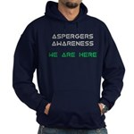 Aspergers Awareness Hoodie (dark)