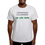 Aspergers Awareness Light T-Shirt