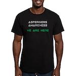 Aspergers Awareness Men's Fitted T-Shirt (dark)