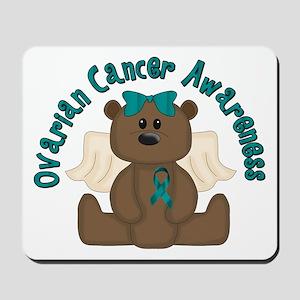 Ovarian Cancer Bear Mousepad