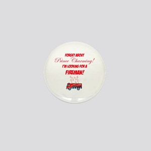 Looking for a fireman! Mini Button