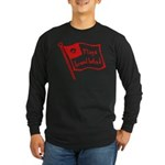 Flags Breed Hatred Long Sleeve Dark T-Shirt