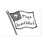 Flags Breed Hatred Postcards (Package of 8)