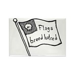 Flags Breed Hatred Rectangle Magnet (10 pack)