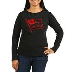 Flags Breed Hatred Women's Long Sleeve Dark T-Shir