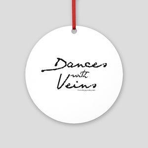 Dances with Veins Ornament (Round)