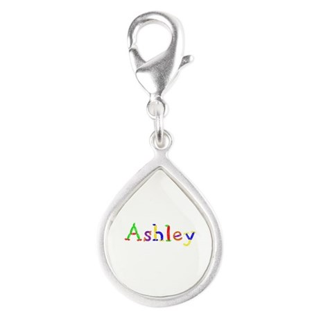 Ashley Balloons Silver Teardrop Charm