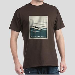 Save the Wetlands Dark T-Shirt