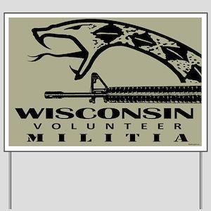 Wisconsin Militia Yard Sign